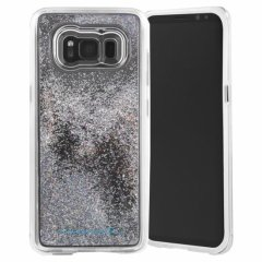 【Galaxy S8+ 滝をイメージしたきらびやかなケース】Galaxy S8+ SC-03J/SCV35 Waterfall Iridescent