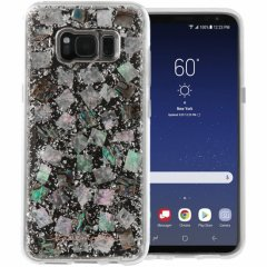 【Galaxy S8+ ケース 真珠貝を使用!】 Galaxy S8+ SC-03J/SCV35 Karat Case Mother of Pearl