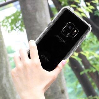 【Galaxy S9専用 スリムボディなのに耐衝撃性抜群!】Galaxy S9 SC-02K/SCV38 Tough - Clear