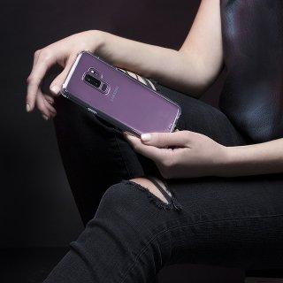 【Galaxy S9+専用 スリムボディなのに耐衝撃性抜群!】Galaxy S9+ SC-03K/SCV39 Tough - Clear