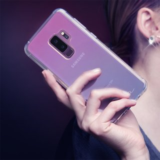 【Galaxy S9+専用 光の加減で色が変化】Galaxy S9+ SC-03K/SCV39 Naked Tough - Iridescent