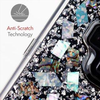 【本物の真珠貝を使用!美しく可愛いケース】Galaxy Note9 Karat-Mother of Pearl