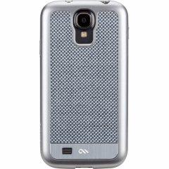 【本物のカーボンファイバーを使用のケース】 Galaxy S4 SC-04E Crafted Case Carbon Fiber  Silver