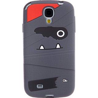 【かわいいミイラ男のソフトケース】 Samsung GALAXY S4 docomo SC-04E Creatures: Tut Mummy  Gray