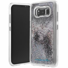 【Galaxy S8 滝をイメージしたきらびやかなケース】Galaxy S8 SC-02J/SCV36 Waterfall Iridescent