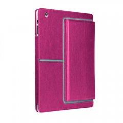 【スタンド機能付ブックスタイルケース】 iPad 2〜4世代 Venture Case Lipstick Pink