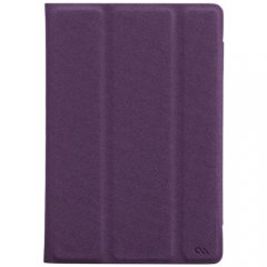 【薄い iPad mini ケース】 iPad mini 3/2/1 Textured Tuxedo Case Violet Purple