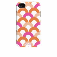 【衝撃に強いデザインケース】 iPhone 4S/4 Hybrid Tough Case Clairebella - Fiesta Scoop