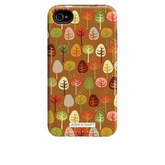 【衝撃に強いデザインケース】 iPhone 4S/4 Hybrid Tough Case Cosy Forest/Autumn Glory
