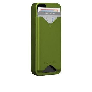【ICカードが収納可能なハードケース】 iPhone 4S/4 ID Case Matte Green