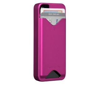 【ICカードが収納可能なハードケース】 iPhone 4S/4 ID Case Matte Hot Pink
