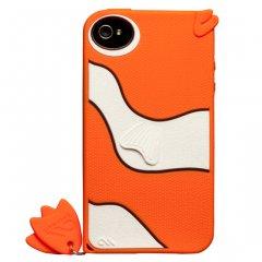 【かわいい熱帯魚のケース】 iPhone 4S/4 Creatures: Gil Fish Case Orange