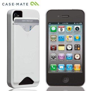 【ICカードが収納可能なハードケース】 iPhone 4S/4 ID Case Glossy White