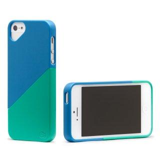 iPhone 4S/4 対応ケース Duet Case, Malibu Blue/Ocean Green