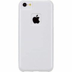 【ポリカーボネート製のスリムハードケース】 iPhone 5c Barely There Case Glossy White