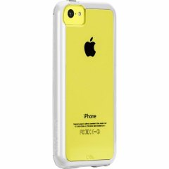 【衝撃に強いタフなケース】 iPhone 5c Hybrid Tough Naked Case Clear / White