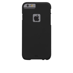 【iPhone6s/6 ケース 薄型 シンプル】 iPhone6s/6 Barely There Case Matte Black ベアリーゼア・スリム ハードケース