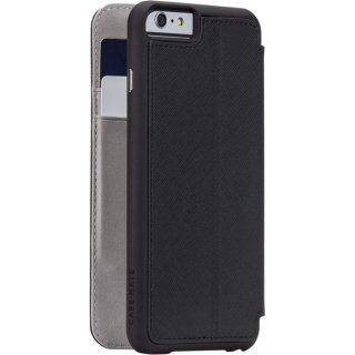 【iPhone6s/6 ケース 手帳型 スタンド機能付き】 iPhone6s/6 Stand Folio Case Black ブックタイプ ケース