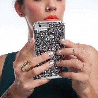 【iPhone6s/6 ケース 水晶を使用】 iPhone6s/6 Brilliance Case Steel ブリリアンス ケース スチール