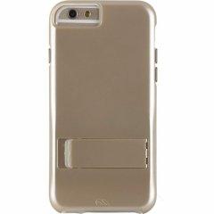 【iPhone6s/6 ケース スタンド付き耐衝撃タイプ】 iPhone6s/6 Hybrid Tough Stand Case Gold/Clear