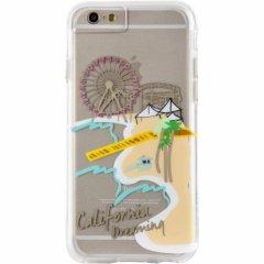 【iPhone6s/6 ケース デザイン・プリント】 iPhone6s/6 Hybrid Naked Tough City Print Los Angeles Santa Monica