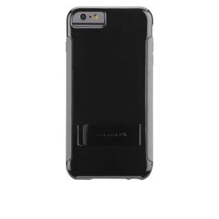 【iPhone6s Plus/6 Plus ケース 2種の素材を使用】 iPhone6s Plus/6 Plus POP! with Stand Case Black/Gray