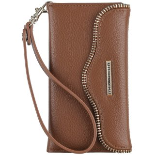 【iPhone6s Plus/6 Plus ケース】 iPhone6s Plus/6 Plus REBECCA MINKOFF Leather Folio Wristlet Almond
