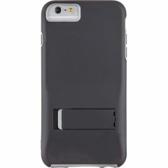 【iPhone6s Plus/6 Plus ケース スタンド付き耐衝撃タイプ】 iPhone6s Plus/6 Plus Hybrid Tough Stand Case Black/Grey