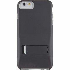 【iPhone6s Plus/6 Plus ケース スタンド付き耐衝撃タイプ】 iPhone6s Plus/6 Plus Hybrid Tough Stand Case Black/Grey