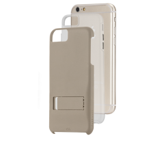 【iPhone6s Plus/6 Plus ケース スタンド付き耐衝撃タイプ】 iPhone6s Plus/6 Plus Hybrid Tough Stand Case Gold/Clear