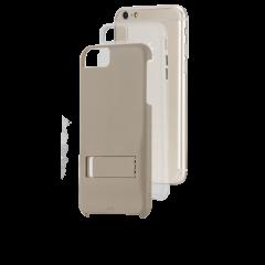 【iPhone6s Plus/6 Plus ケース スタンド付き耐衝撃タイプ】 iPhone6s Plus/6 Plus Hybrid Tough Stand Case Gold/Clear