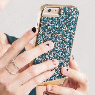 【iPhone6s Plus/6 Plus ケース 水晶を使用】 iPhone6s Plus/6 Plus Brilliance Case Turquoise
