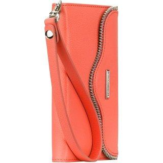 【iPhone6s Plus/6 Plus ケース レベッカ・ミンコフ】 REBECCA MINKOFF Leather Folio Wristlet  Coral