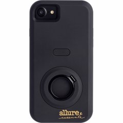 【iPhone8対応 自撮り専用ケース 】iPhone8/7/6s/6 Allure Selfie Case Black