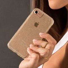 【iPhone8 洗練された透き通るきらめき】iPhone8/7/6s/6/7/6s/6 Sheer Glam - Champagne