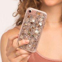 【真珠貝を使用!美しく煌びやかなケース】 iPhone SE(第2世代/2020年発売) / 8/7/6s/6 Karat - Mother of Pearl