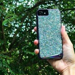 【iPhone8 水晶を使用した高級感あふれるプレミアムなケース】iPhone8/7/6s/6 Brilliance - Iridescent