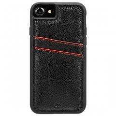 【iPhone8 オシャレ 通勤通学に最適なケース!】iPhone8/7/6s/6/7/6s/6 Tough ID Case - Black