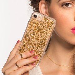 【iPhone8 ケース 24金を大胆に使用!】iPhone8/7/6s/6 Karat Case-Gold