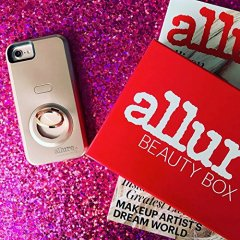【iPhone 8対応 自撮り専用ケース 】iPhone8/7/6s/6 Allure Selfie Case  Rose Gold