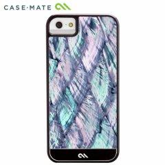 【本物の真珠貝を使用した高級ケース】 iPhone SE/5s/5 Crafted Case Pearl Black