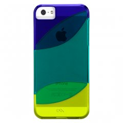 【カラフルなケース】 iPhone SE/5s/5 Colorways Case Blue/Emerald Green/Chartreuse Green