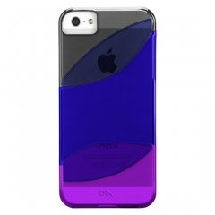 【カラフルなケース】 iPhone SE/5s/5 Colorways Case Black/Marine Blue/Violet Purple