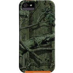 【森林迷彩模様のケース】 iPhone SE/5s/5 Hybrid Tough Case Mossy Oak / Orange