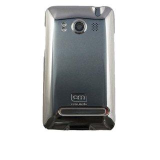 【スリムなハードケース】 au HTC EVO WiMAX ISW11HT Barely There Case Gloss Metallic Silver
