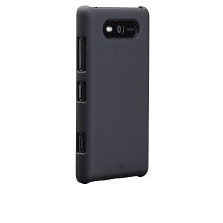 【スリムなハードケース】 Nokia Lumia 820 Barely There Case Matte Black