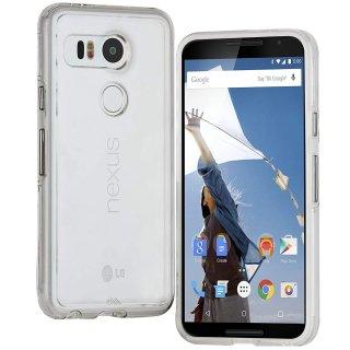 【衝撃に強いケース】 Google Nexus 5X / docomo Nexus 5X Hybrid Tough Naked Case Clear/Clear