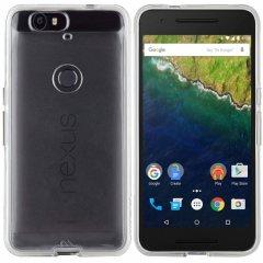 【衝撃に強いケース】 Google Nexus 6P / SoftBank Nexus 6P Hybrid Tough Naked Case Clear/Clear