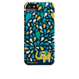 【デザインケース】 iPhone SE/5s/5 DESIGNER PRINTS BT Case  Tad Carpenter Spring Spray