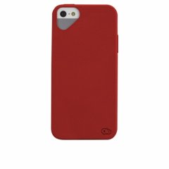 iPhone SE/5s/5 対応ケース Cloud Case, Red Hibiscus